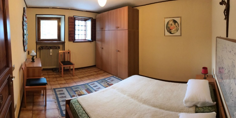double bedroom on the ground floor